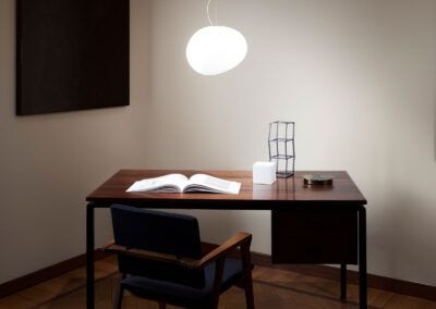 foscarini gregg media lampara colgante led