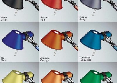lámpara de pared tolomeo micro wall by artemide